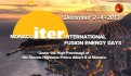 MIIFED 2013: Monaco ITER International Fusion Energy Days